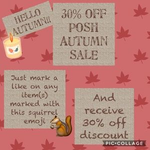Other - Autumn Sale— 🐿= 30% Off